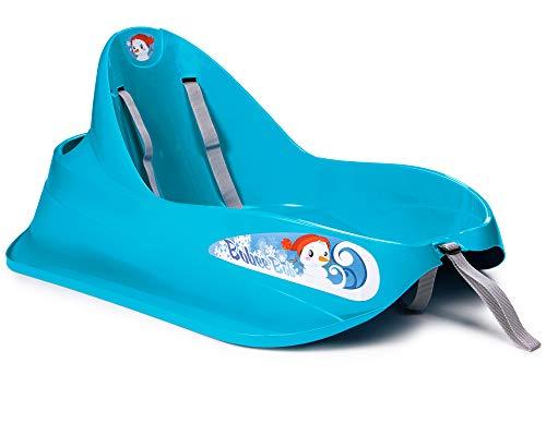 Ondis24 Schlitten Bob für Kleinkinder blau...