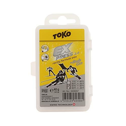 Toko Express Racing Formula Wachs mit Kork,...