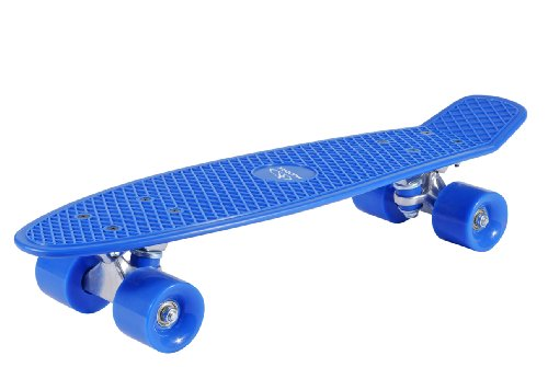 HUDORA - Kinder 12137 Retro Skateboard,...