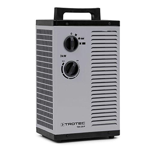 TROTEC Keramik Heizlüfter Elektroheizer TDS...