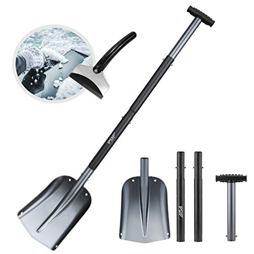 IPSXP Schneeschaufel, Aluminiumlegierung...