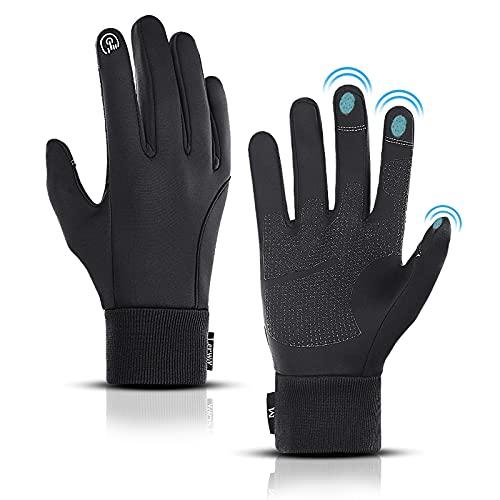LERWAY Winter Warme Handschuhe, Touchscreen...