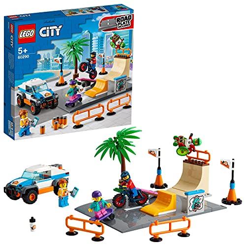 LEGO 60290 City Skate Park Bauset mit...