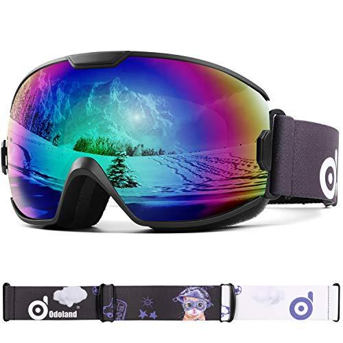 Odoland Skibrille Kinder Snowboardbrille für...