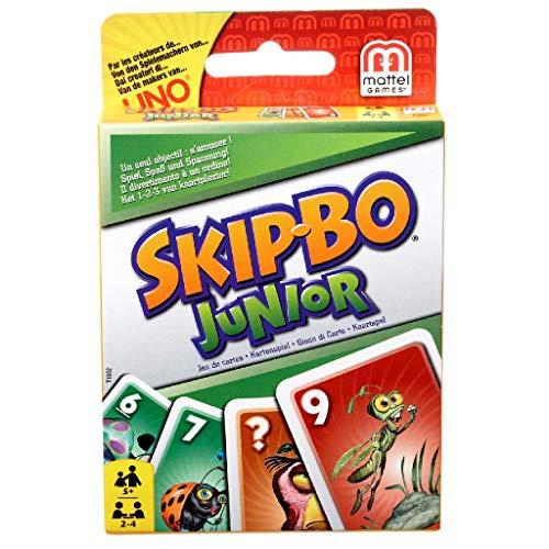 Mattel Games T1882 Skip-Bo Junior Kartenspiel...